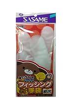 ささめ針(SASAME) PA300 道具屋 フィッシング手袋ポリエチレン大