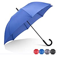 RUMBRELLA Hook Handle Umbrella Windproof, j Umbrellas Auto Open 54IN