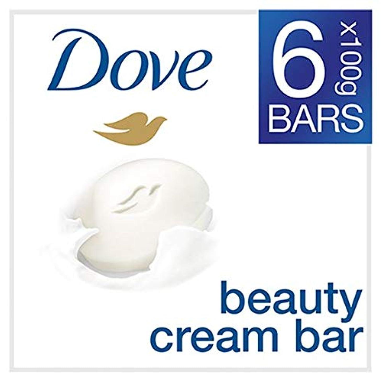 シャンプーフットボール平らにする[Dove ] 鳩元固形石鹸6X100G - Dove Original Bar Soap 6X100g [並行輸入品]