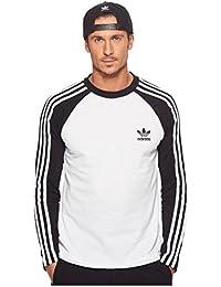 (アディダス) adidas メンズタンクトップ・Tシャツ 3-Stripes Long Sleeve Tee