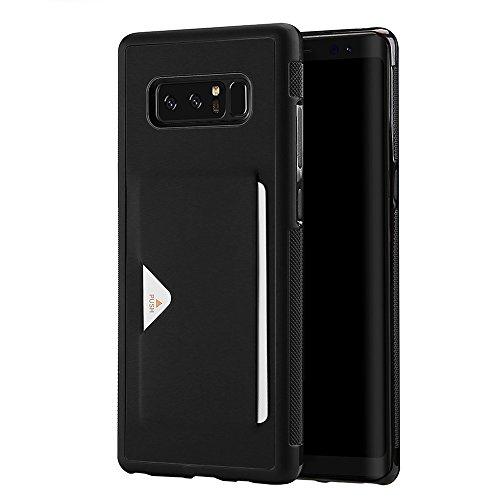 Samsung Galaxy Note 8 ケース カード収納ホルダー付 軽...