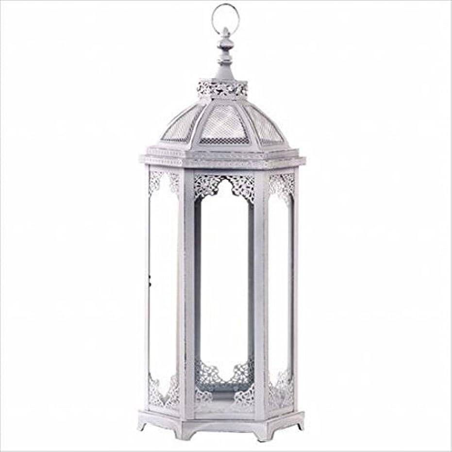 予知オピエートファンブルカメヤマキャンドル( kameyama candle ) アンティークホワイトランタンL