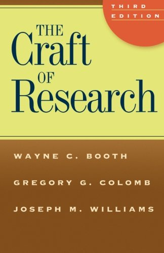 The Craft of Research (Chicago Guides to Writing, Editing, and Publishing)の詳細を見る