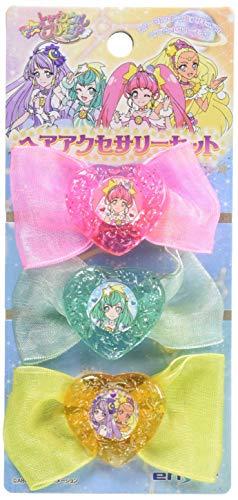 スター☆トゥインクルプリキュア ヘアアクセサリーセット BOX商品 1BOX=6個入り、全3種類