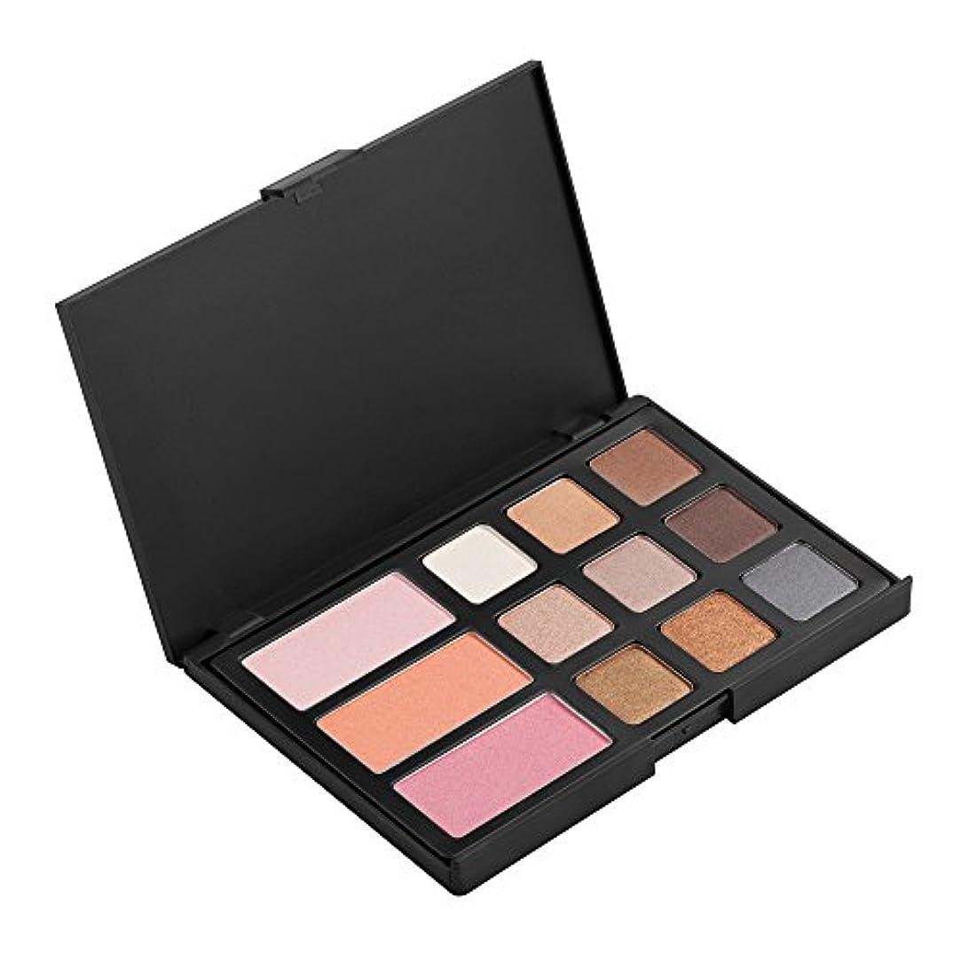 他の日インターネット選出するKOZEEY12色 アイシャドウ チーク ブラッシャー パレット メイクアップ 美容 化粧品 セット キット