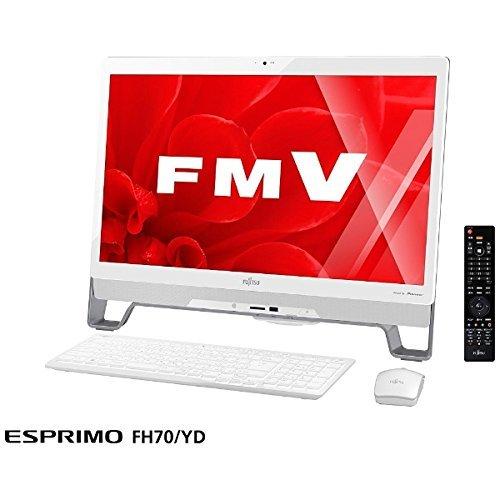 富士通 23型デスクトップパソコンFMV ESPRIMO FHシリーズ FH70/YD(Office Home&Business Premium プラス Office 365) FMVF70YDW