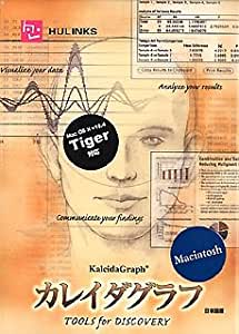 KaleidaGraph 4.0 Mac 日本語版