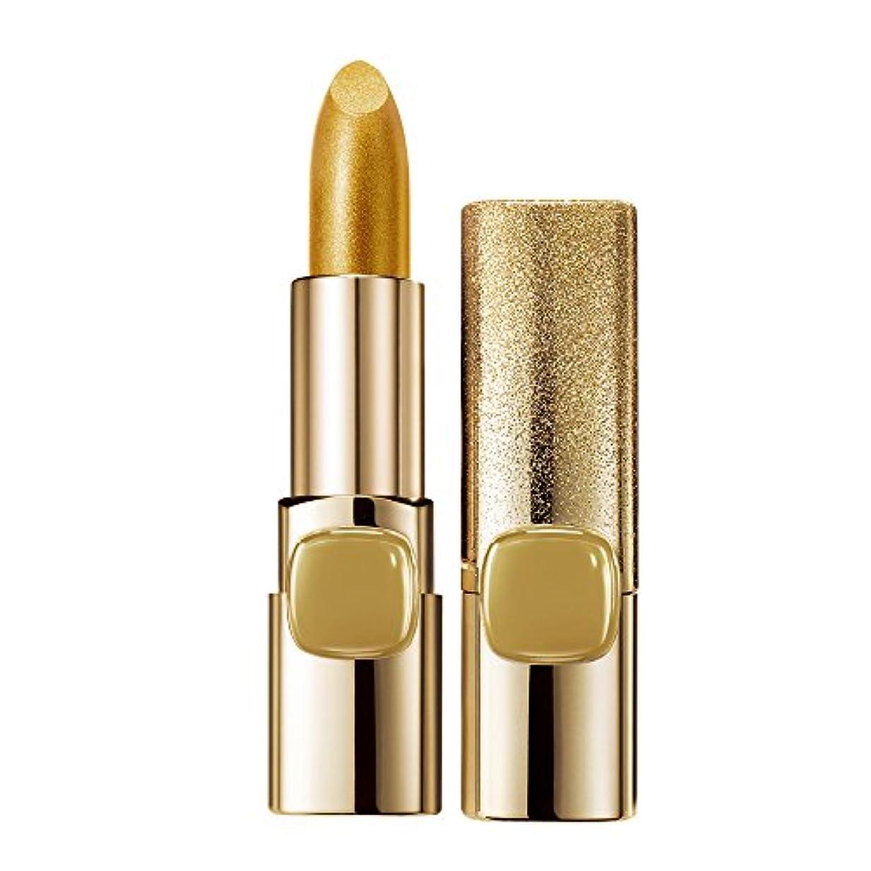 プレゼンター金属株式ロレアル パリ リップ カラーリッシュ ルルージュ ゴールドリップコレクション 629 ピュアゴールド ツヤ