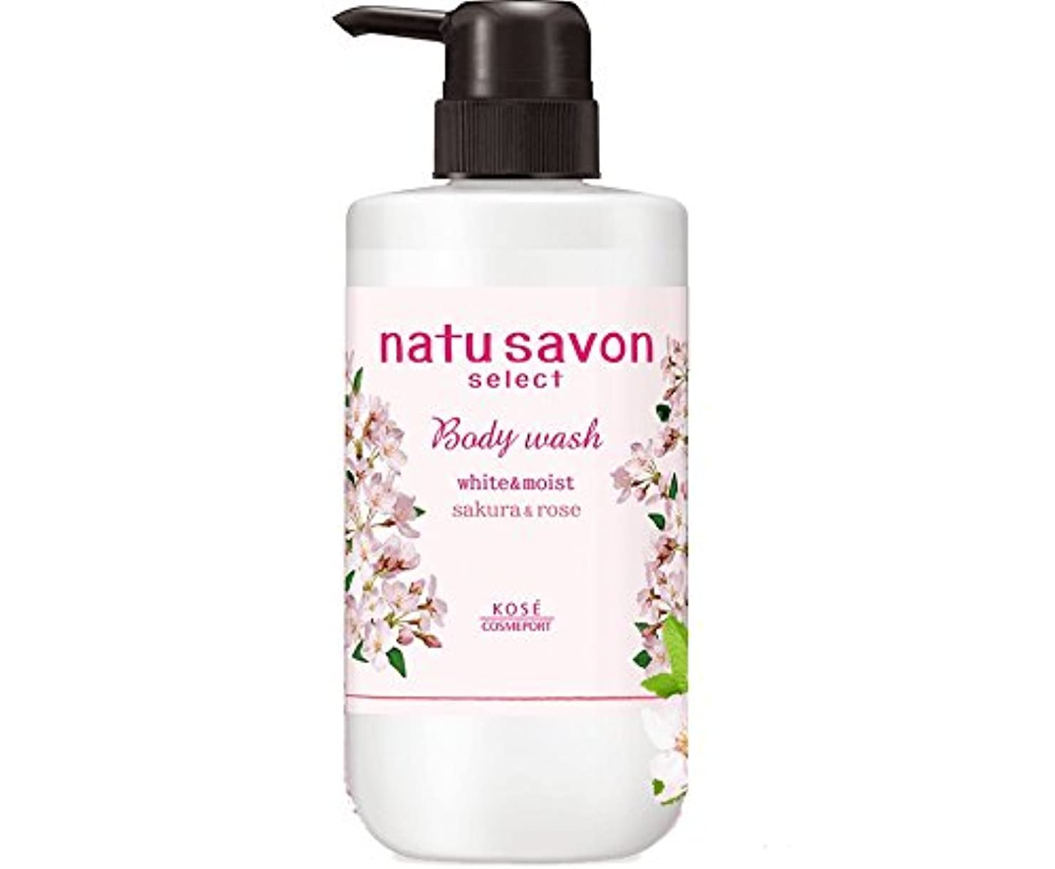 高めるプロフィールめまいナチュサボンセレクト ボディウォッシュ ボタニカル桜の香り white&moist(数量限定品)
