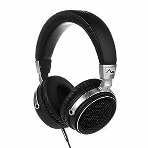 LASMEX プロフェッショナル DJヘッドフォン 密閉型 モニターヘッドホン 片耳モニターに対応 ブラック L-90