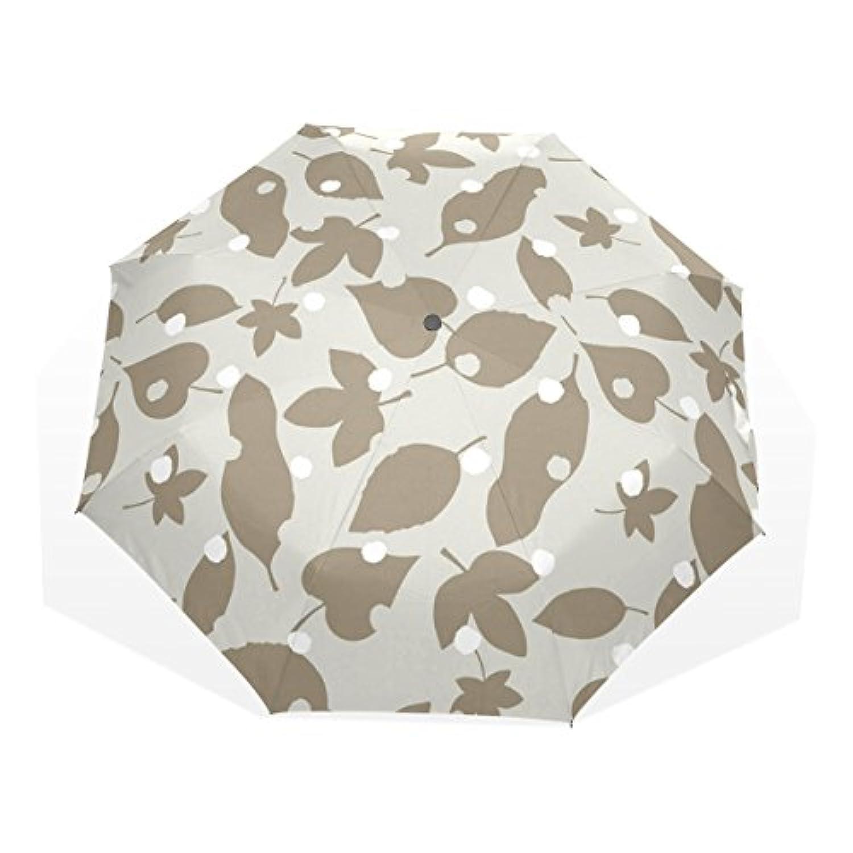 ユキオ(UKIO) 折りたたみ傘 レディース 晴雨兼用 高密度 遮光 手動 遮熱 飛び跳ね防止 梅雨対策 雨傘 日傘 軽量 葉 防風 頑丈 星柄 収納ケース付