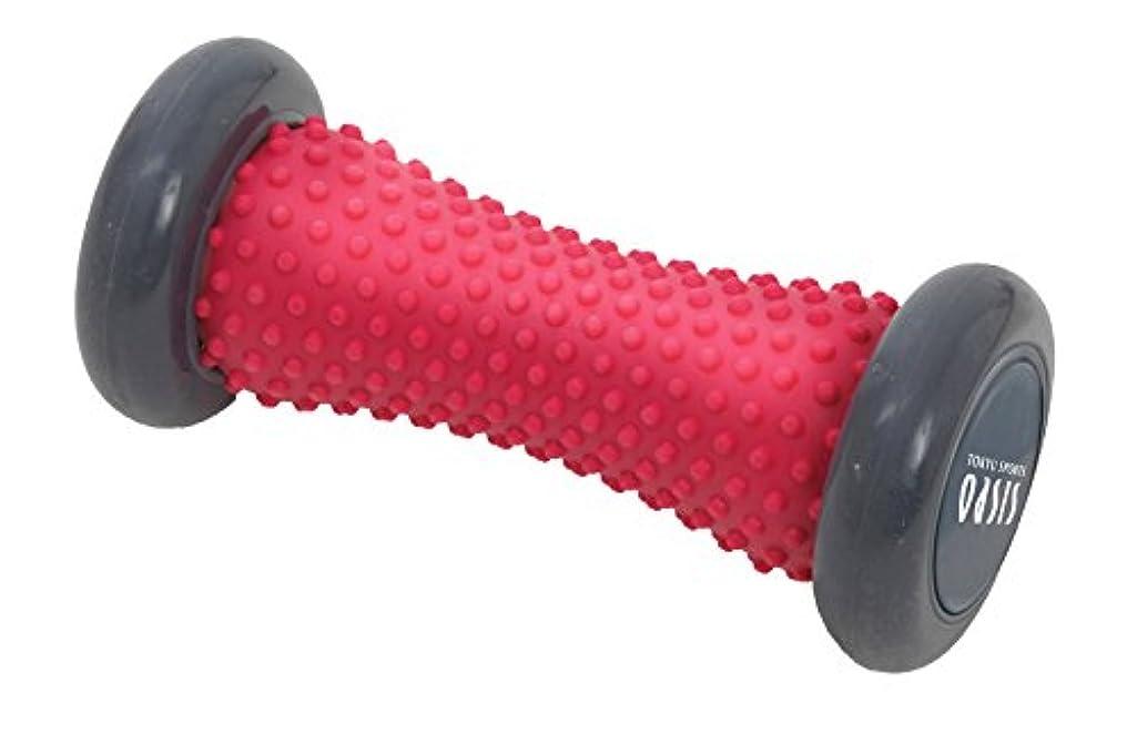 藤色分離するやさしく東急スポーツオアシス ほぐしローラーFoot(フット)(ピンク)足裏 マッサージ?ツボ押しグッズ