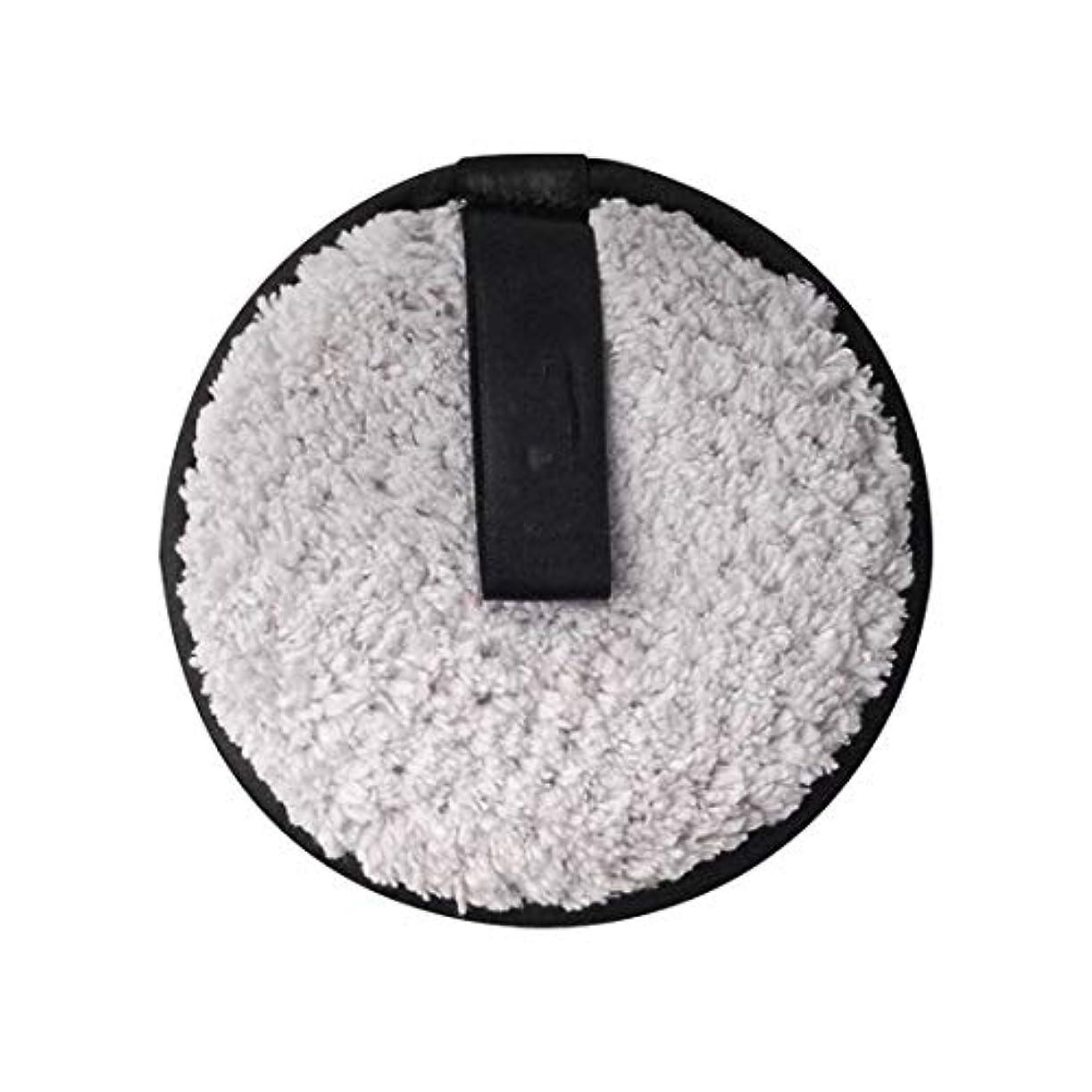 基本的な欠点通りメイク落とし布マジックタオル、再利用可能な洗顔タオル - 化学薬品を含まない、ただ水で化粧をすぐに落とす(6PCS),Gray