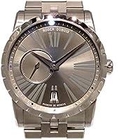 ロジェ・デュブイ エクスカリバー42 マイクロローター オートマティック RDDBEX0449 グレー メンズ 腕時計 [並行輸入品]