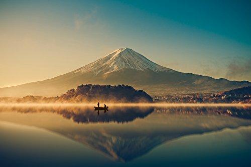 「いまここ。(IMACOCO)」お風呂ポスター/Lサイズ/富士山(朝日)