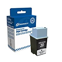 Dataproducts DPC14DN Remanufactured Ink Cartridge Replacement for HP #20 (C6614DN) (Black) [並行輸入品]