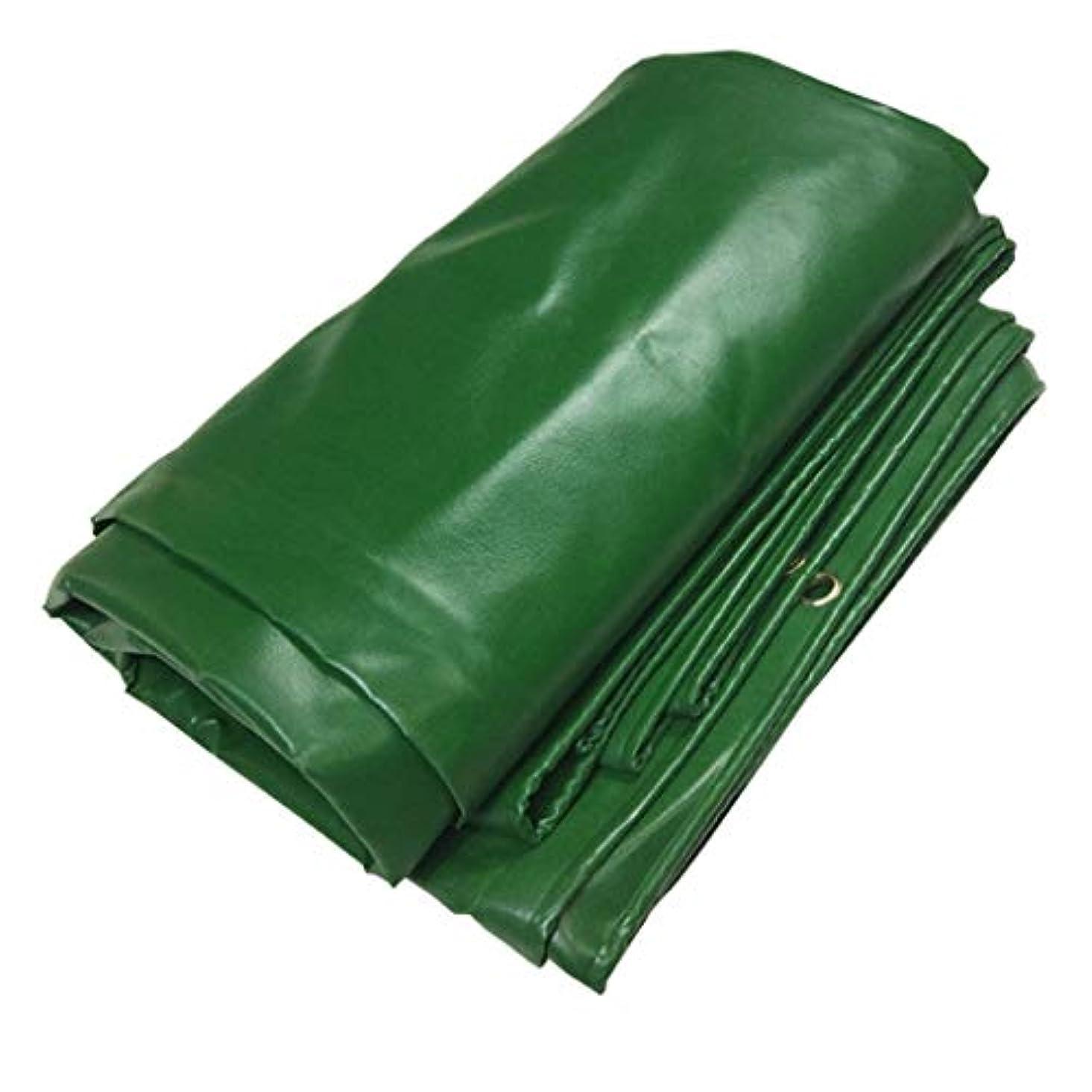 学習者もし告白ヘビーデューティビニールタープカバーグロメットと強化エッジ、インフレータブル、テント、および天候の保護のための16ミルの厚さの多目的ターポリン、グリーン (Size : 5X8m/13'x26')