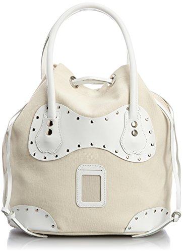 Gumdrop/Cotton Canvas×Leather Bag (Medium) カルネ