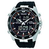 [パルサー]PULSAR 腕時計 PW6009 デジアナ クロノグラフ メンズ [並行輸入品]