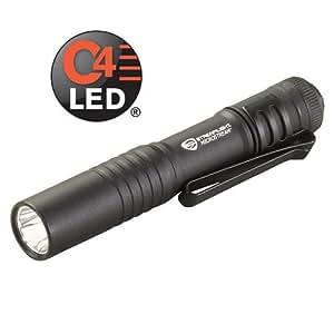【35ルーメン:C4 LED搭載モデル】 Streamlight MicroStream ストリームライト マイクロストリーム : ST66318 【単4アルカリ電池×1本使用 / 点灯時間:2時間15分】