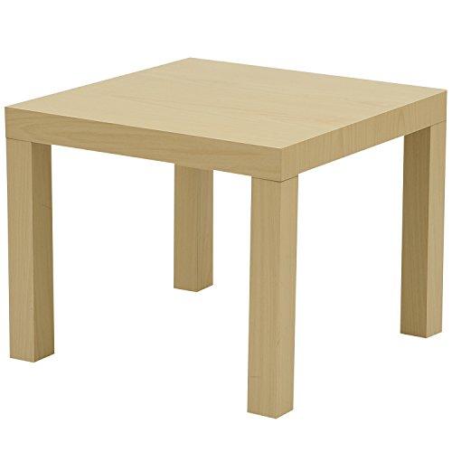 山善(YAMAZEN) キュービックテーブル(45×45) ナチュラル ET-4545(NA)