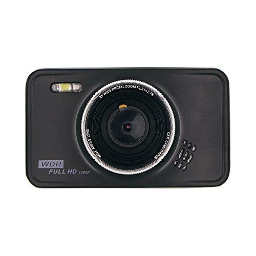 ドライブレコーダー 車載カメラ 3.0インチLCDカーDVR 1080PフルHD Gセンサー内蔵 ビデオカメラ 140度広角 ナイトバージョンダッシュボード 循環ループ録画 駐車監視機能 モーションセンサー