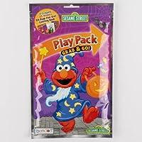 再生PK Sesame Street Halloweenクレヨン、ステッカー、楽しいサイズ本、ケースパックof 48