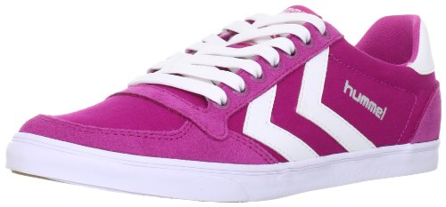 [ヒュンメル] hummel Slimmer Stadil Low Canvas HM63112 4007 (Raspberry Rose/White/39)