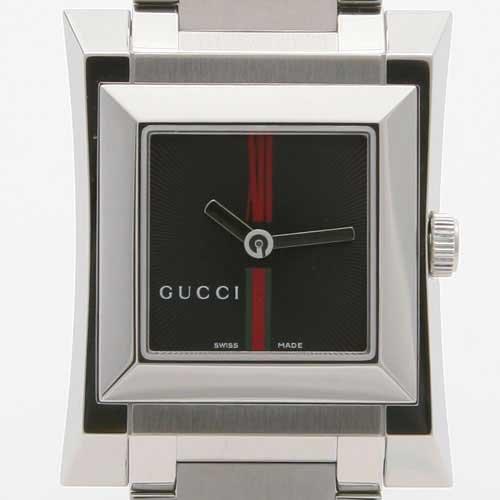 [グッチ]GUCCI 腕時計 YA111 GRGブラック YA111502 レディース [並行輸入品]
