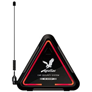 ユピテル Aguilas 簡単設置OBDII通信対応 純正キー連動本格カーセキュリティ VE-S500R