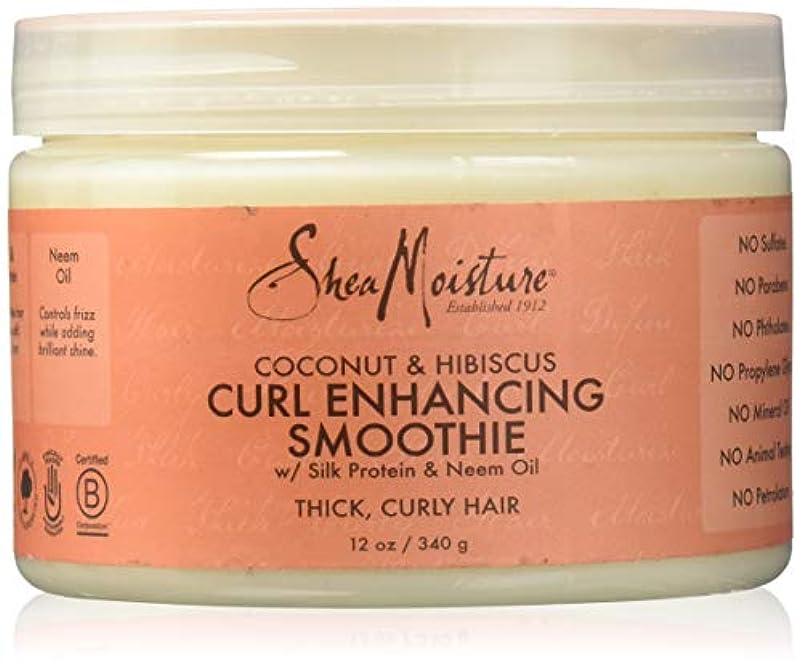 うつアイザック架空のShea Moisture Coconut & Hibiscus Curl Hold Smoothie - 12 OZ.