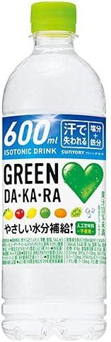 送料無料 【2ケースセット】サントリー GREEN DA・KA・RA(グリーン ダカラ)【手売り用】 600mlペットボトル×24本入×(2ケース) ※北海道・沖縄・離島は別途送料が必要。