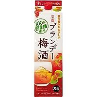 清洲桜醸造 楽園 ブランデー梅酒 パック [ 1800ml ]