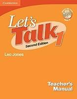 Let's Talk Level 1 Teacher's Manual with Audio CD (Let's Talk (Cambridge Teacher's Manuals))