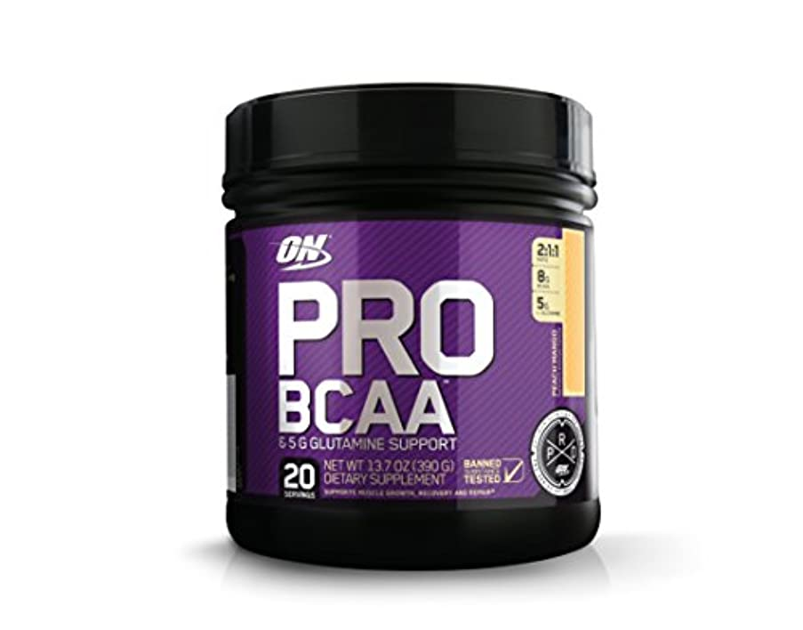 Optimum Nutrition Pro BCAA Drink Mix, Peach Mango, 13.7 Ounce