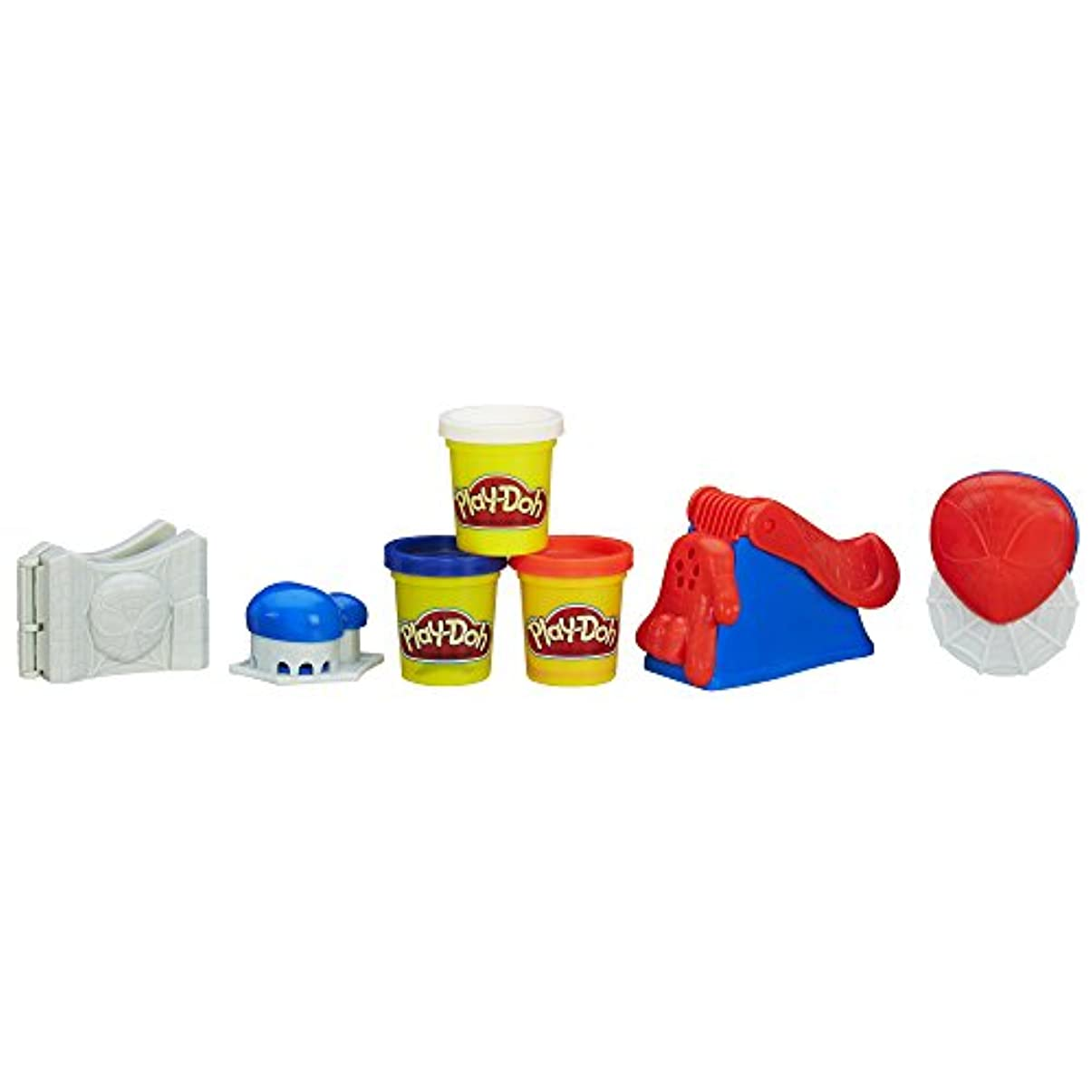 Play Doh Spiderman Super Tools Play Set