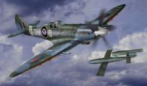 1/32 スピットファイヤー Mk.14C グリフォンエンジン