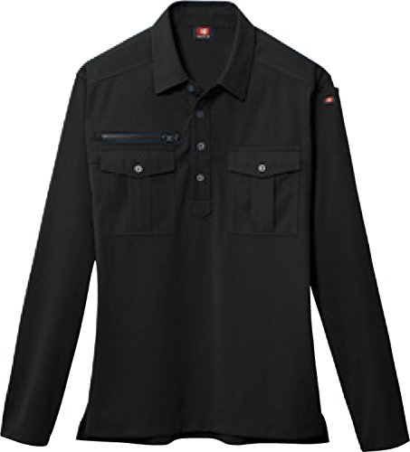 [해외]울란바토르 (BURTLE) 긴 소매 폴로 셔츠 스트레치 니트 봄 여름 소재 bt-705/Bate (BURTLE) long-sleeved polo shirt stretch knit spring and summer material bt-705