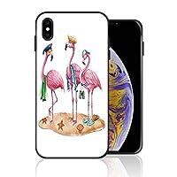 iPhone 7/8 携帯カバー フラミンゴ 帽子 タオル 漫画 白背景 カバー TPU 薄型ケース 防塵 保護カバー 携帯ケース アイフォンケース 対応 ソフト 衝撃吸収 アイフォン スマートフォンケース 耐久