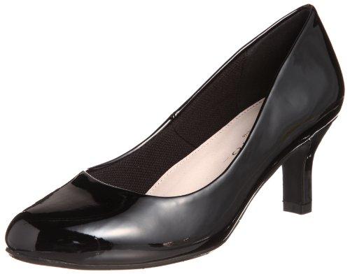 ラウンドトゥエナメルレインパンプス メルモ(靴)