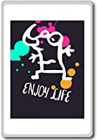Enjoy Life - Motivational Quotes Fridge Magnet - ?????????
