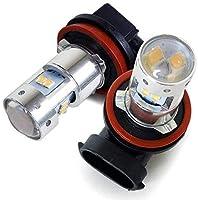 N-WGN カスタム LED フォグランプ ホンダ H16 50W フォグ ライト 2個セット ジャップ製 ホワイト