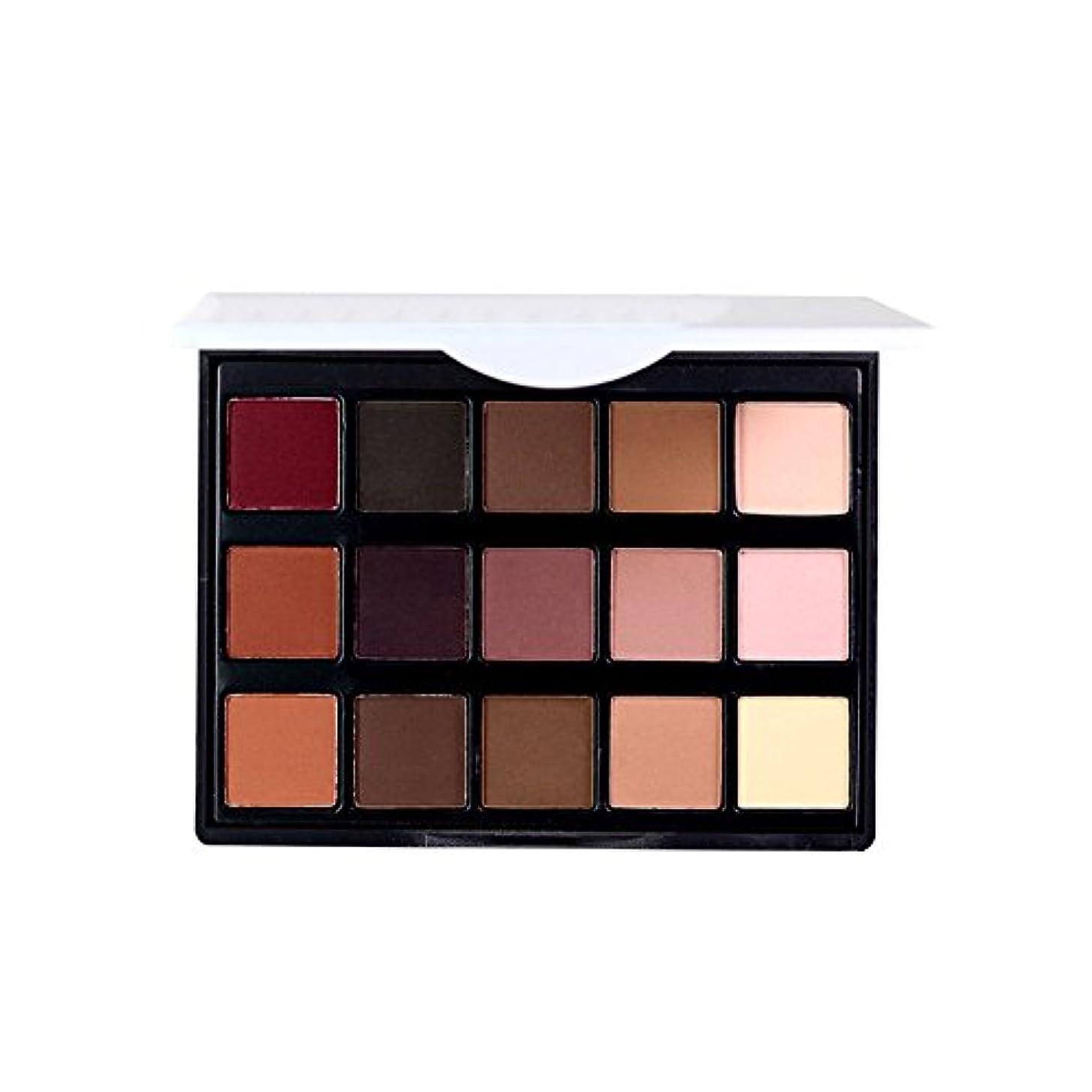 放棄する勢い夕暮れ女性 プロフェッショナル15色 眼 影 化粧品 パレット アイシャドウ アイメイク アップ化粧品 1