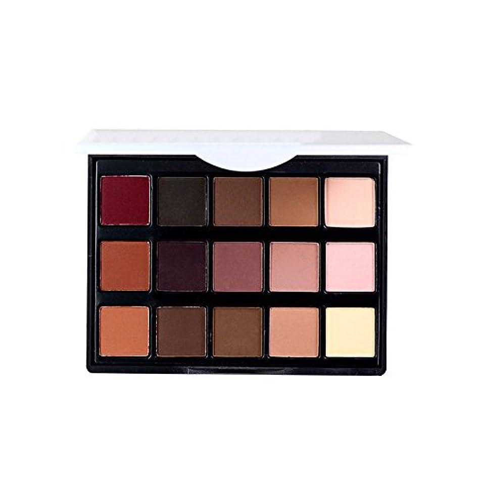 軽食オーバーフロー応答女性 プロフェッショナル15色 眼 影 化粧品 パレット アイシャドウ アイメイク アップ化粧品 1