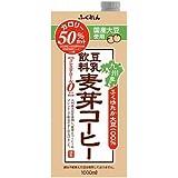 ふくれん 豆乳飲料麦芽コーヒー 1000ml×6本