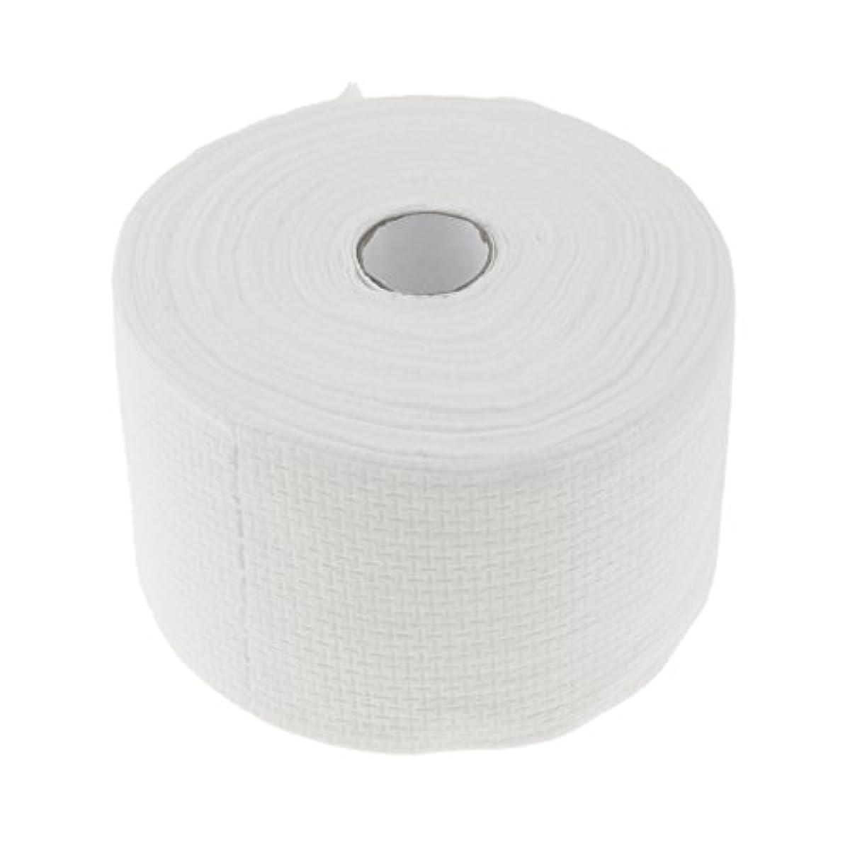 続ける極めて重要なスローガンPerfk 使い捨てタオル ロール式 洗顔タオル 30M コットン 快適 便利 家庭用 サロン 2タイプ選べる - #1