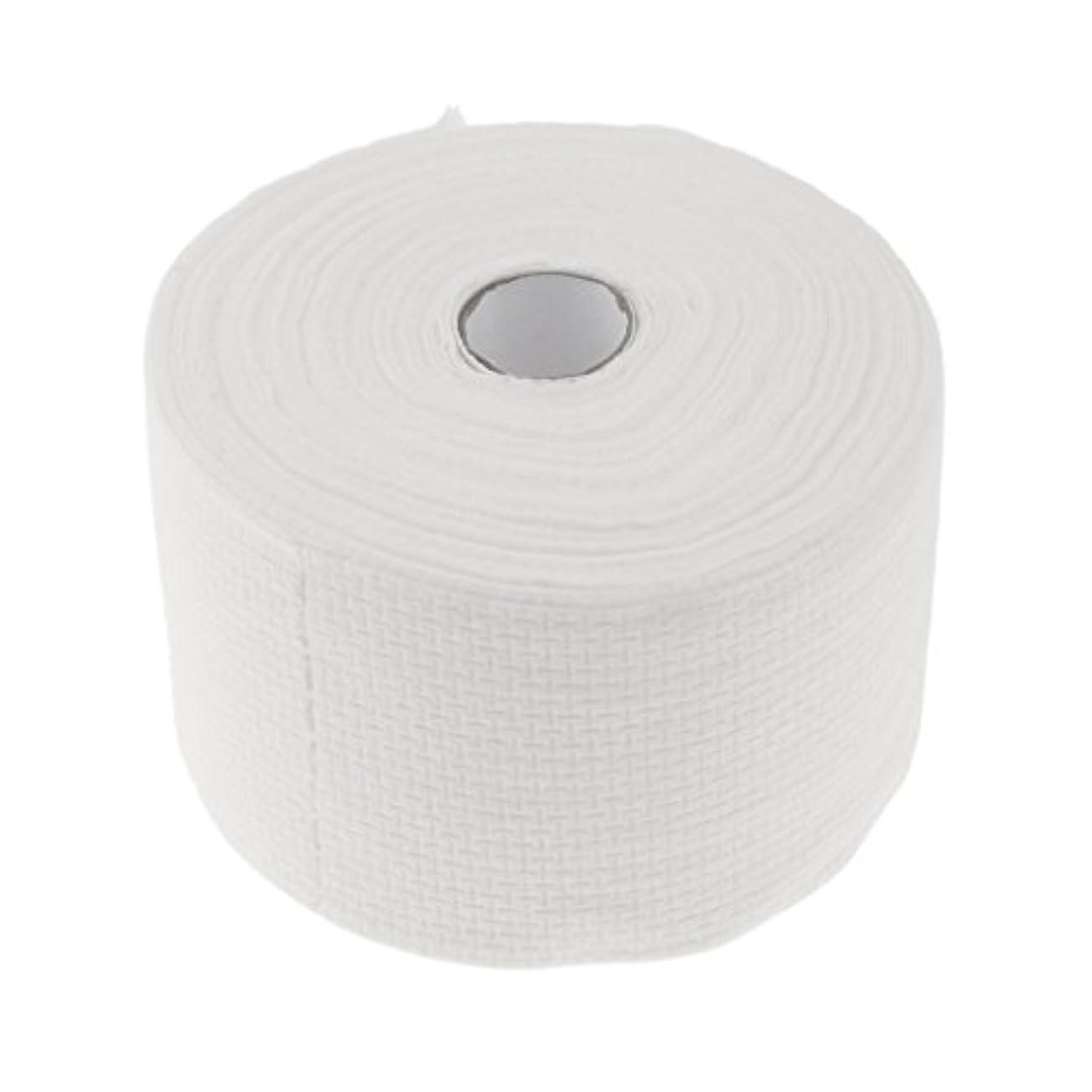 封筒染色比類のない使い捨てタオル ロール式 洗顔タオル 30M コットン 快適 便利 家庭用 サロン 2タイプ選べる - #1