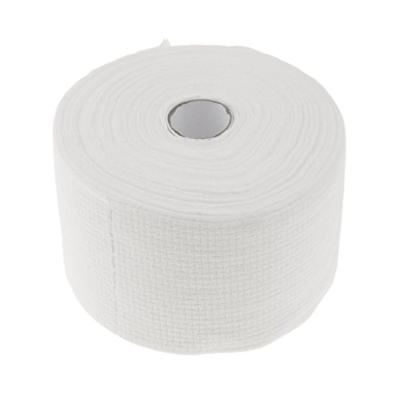 解説コンドーム申し込むPerfk 使い捨てタオル ロール式 洗顔タオル 30M コットン 快適 便利 家庭用 サロン 2タイプ選べる - #1