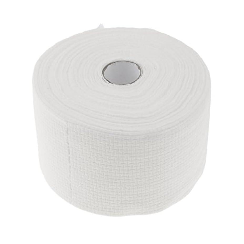 ボーナス一般的に言えば認証Perfk 使い捨てタオル ロール式 洗顔タオル 30M コットン 快適 便利 家庭用 サロン 2タイプ選べる - #1