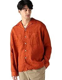 [ビーミング ライフストア by ビームス] カジュアルシャツ B:MING by BEAMS ベルギーリネン オープンカラーシャツ メンズ